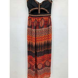 Sans Souci dress small maxi bandeau top cut out
